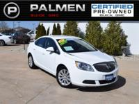 Summit White 2016 Buick Verano FWD 6-Speed Automatic