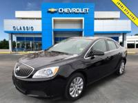 Black 2016 Buick Verano FWD 6-Speed Automatic