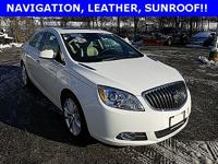 CARFAX One-Owner. 2016 Buick Verano Leather Group FWD