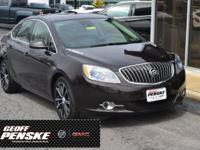 CARFAX One-Owner. Clean CARFAX. Brown 2016 Buick Verano