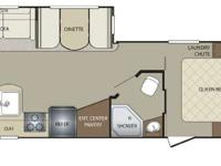 Open floor plan in the living area that includes fold