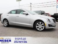 Recent Arrival! Silver Cadillac ATS  30/22 Highway/City
