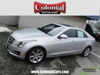 Recent Arrival! New Price! Certified. 2016 Cadillac ATS