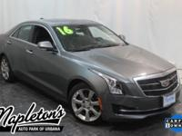 Recent Arrival! 2016 Cadillac ATS in Charcoal,
