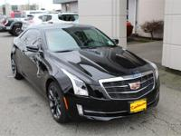 This Cadillac ATS 2.0L Turbo One-Owner CARFAX Black