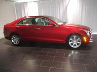 Options:  2016 Cadillac Ats 2.0L Turbo Luxury|Red|Clean