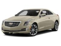 Introducing the 2016 CADILLAC ATS! It delivers plenty