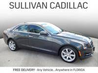 2016 Cadillac ATS 2.5L Gray CARFAX One-Owner. Clean