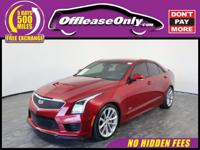 Options:  2016 Cadillac Ats 3.6L V Rwd|Red Obsession