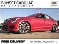 Recent Arrival! **CADILLAC CERTIFIED!**, **MOONROOF**,