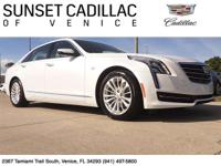 2016 Cadillac CT6. Crystal White with Light Cashmere