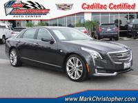 PRICE DROP FROM $70,000. Cadillac Certified, CARFAX