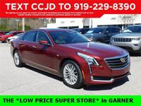 New Price! Red 2016 Cadillac CT6 2.0L Turbo Luxury 4D
