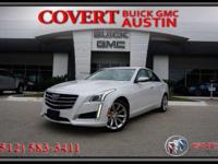 Stylish 2016 Cadillac CTS Premium Collection four door