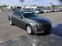New Price! Clean CARFAX. Gray 2016 Cadillac CTS 2.0L