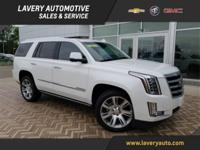 2016 Cadillac Escalade Premium in Crystal White