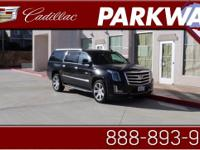 2016 Cadillac Escalade ESV Luxury Black Vortec 6.2L V8
