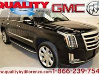 This 2016 Cadillac Escalade ESV Luxury Collection is