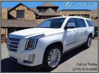 Gorgeous Platinum Cadillac Escalade! Navigation, Back