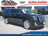 Cadillac Certified, CARFAX 1-Owner, LOW MILES - 16,814!