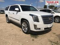 2016 Cadillac Escalade ESV Platinum Edition RWD 8-Speed