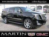 Options:  2016 Cadillac Escalade Esv 4Wd 4Dr Premium