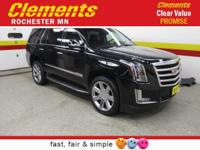 Options:  2016 Cadillac Escalade 4Wd 4Dr Luxury