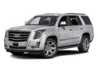 PREMIUM & KEY FEATURES ON THIS 2016 Cadillac Escalade