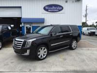 Options:  2016 Cadillac Escalade Luxury Black