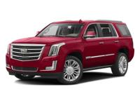 CARFAX One-Owner.Black Raven Escalade Platinum Edition