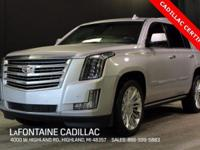 2016 Cadillac Escalade Platinum Edition in Radiant