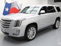 2016 Cadillac Escalade with Leather Seats,Power Front