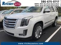 LOCALLY OWNED 2016 CADILLAC ESCALADE PLATINUM