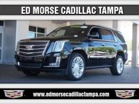 2016 Cadillac Escalade Platinum Edition in Black,