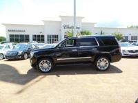 Options:  2016 Cadillac Escalade Platinum|Black