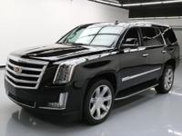 2016 Cadillac Escalade with 6.2L V8 DI Engine,Leather