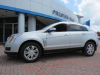 2016 Cadillac SRX Luxury AWD Silver 6-Speed Automatic