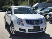 2016 Cadillac SRX Luxury White CARFAX One-Owner. Clean