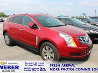 Recent Arrival! Red Cadillac SRX **ANOTHER WEBER