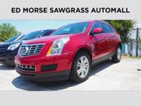 CARFAX 1-Owner, Cadillac Certified. EPA 24 MPG Hwy/17