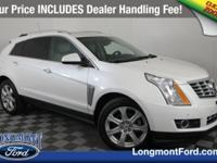 New Price! Platinum Ice Tricoat 2016 Cadillac SRX