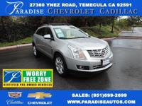 SRX Performance, Cadillac Certified, and 3.6L V6 DGI