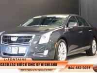 2016 Cadillac XTS Luxury in Gray. Nav! AWD! This