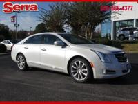 White 2016 Cadillac XTS Luxury FWD 6-Speed Automatic
