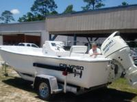 Package price includes 17' Calypso Classic Skiff, 8""
