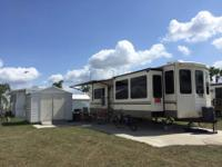 Spacious and elegant, this 40 foot destination trailer