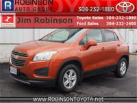 CARFAX One-Owner. Orange 2016 Chevrolet Trax 1LT AWD