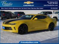 Recent Arrival! Certified. Bright Yellow 2016 Chevrolet