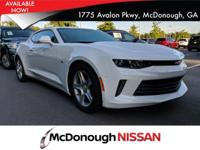 Look at this 2016 Chevrolet Camaro LT. Its Automatic