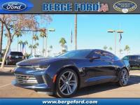 This BLUE 2016 Chevrolet Camaro LT might be just the 2